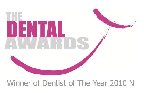Jamie Newlands Dentist of The Year 2010 N