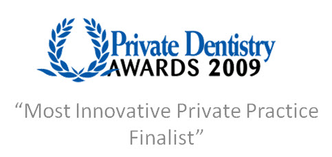 cosmetic dentistry glasgow priavte dentistry awards  Most  innovative practive